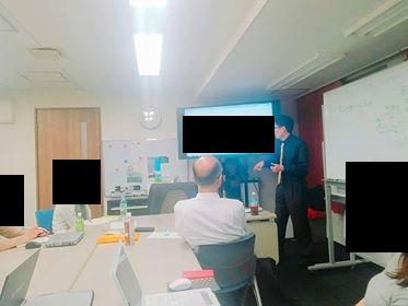 行政書士オフィスNが作成した建設業許可業者様の集客ホームページを題材に、SEO対策セミナーを開催しました。