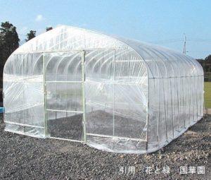 農業用ビニールハウスは、とび・土工・コンクリート工事業に該当する可能性が高いです。